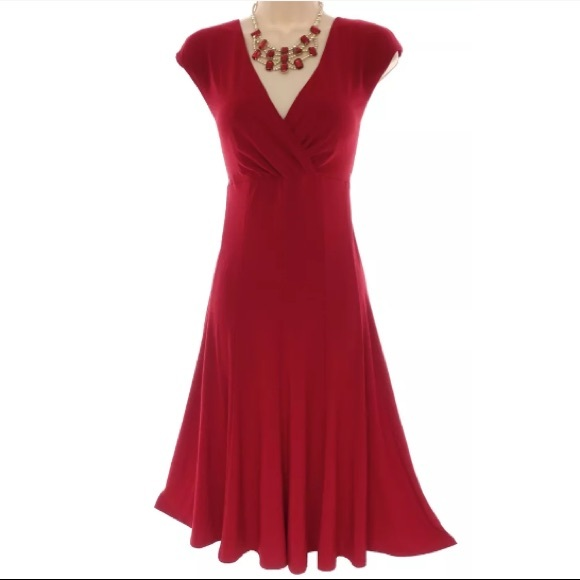 American Living Dresses 16 Xl 1xsexy Little Red Dress Evening Plus